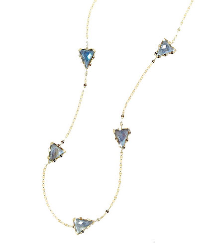 Lana Lumos Labradorite Dash Necklace