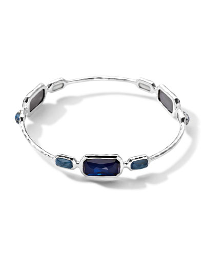 Ippolita Wonderland 3 Quartz & Mother-of-Pearl/Pyrite Bangle
