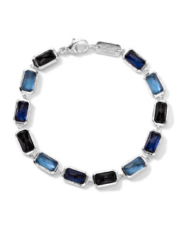 Ippolita Wonderland Rectangle-Cut Quartz & Mother-of-Pearl/Pyrite Bracelet