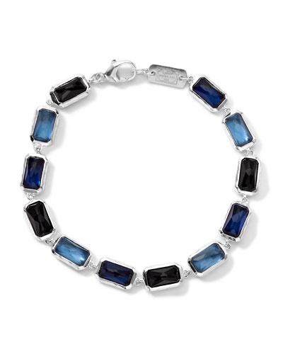 Ippolita Wonderland Rectangle-Cut Quartz & Mother-of-Pearl/Pyrite Bracelet