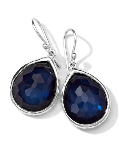 Ippolita Wonderland Quartz/Pyrite Teardrop Earrings