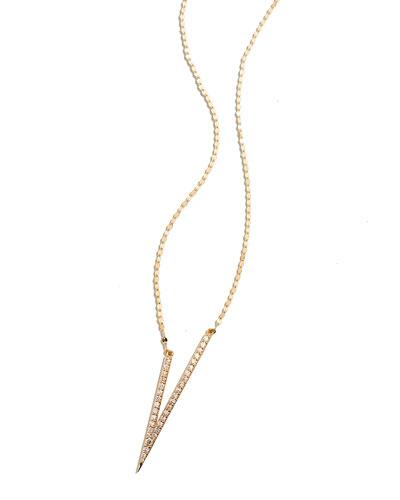 Lana Fatale V Necklace with Diamonds