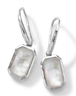 Ippolita Rectangle Clear Quartz & Mother-of-Pearl Earrings