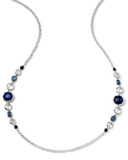 Ippolita 2-Station Quartz, Mother-of-Pearl, Pyrite Necklace