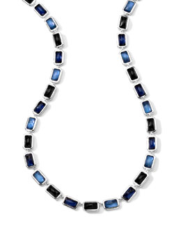 Ippolita Rectangle-Cut Quartz, Mother-of-Pearl, Pyrite Necklace