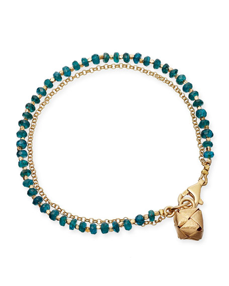 Apatite Little Parcel Friendship Bracelet