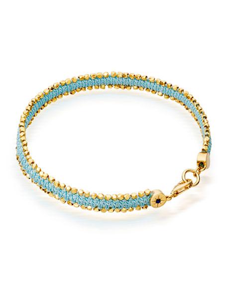 Pale Blue Eyes Nugget Bracelet
