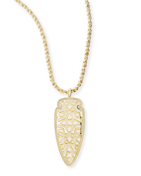 Golden Sienna Pendant Necklace