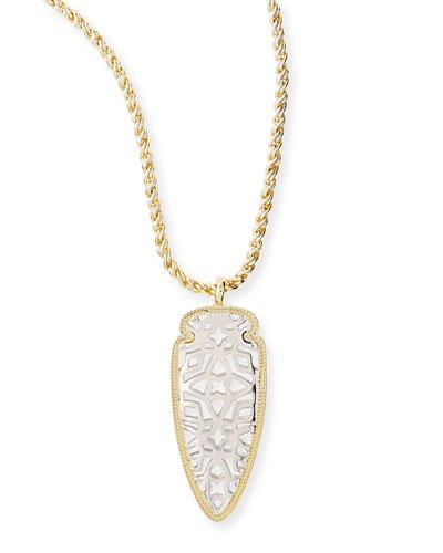 Kendra Scott Golden & Rhodium Sienna Pendant Necklace