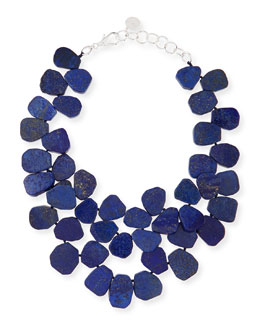 Nest Lapis Cluster Necklace