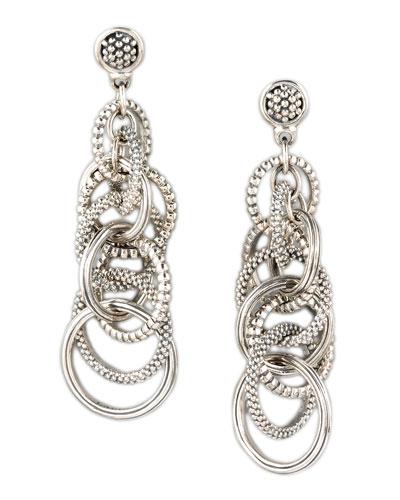 Lagos Link-Drop Earrings