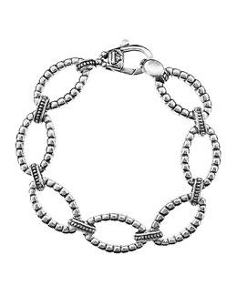 Lagos Sterling Link Bracelet