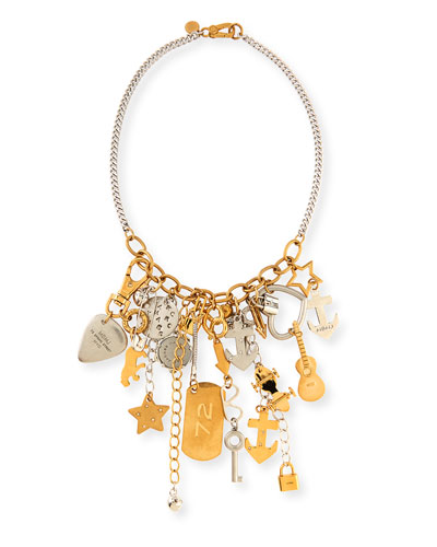 MARC by Marc Jacobs Heavy Metal Statement Necklace