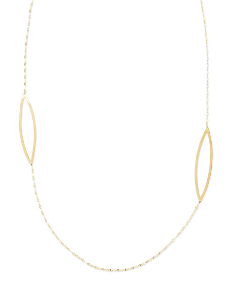 14k Yellow Gold Vault Necklace