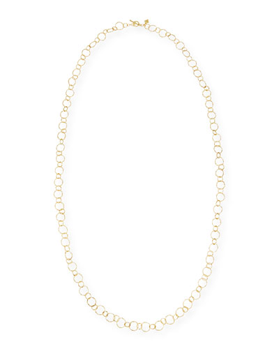 Armenta Old World Gold Long Chain Necklace