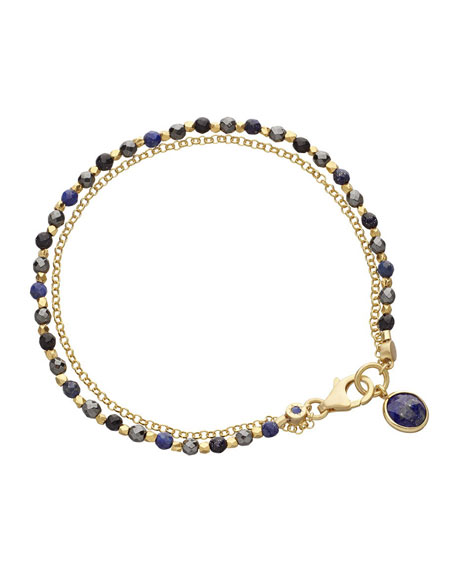Be Very Mysterious Beaded Friendship Bracelet