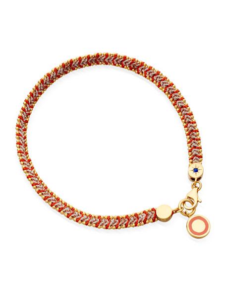 Astley Clarke Cajun Shrimp Cosmos Stones Bracelet, Red