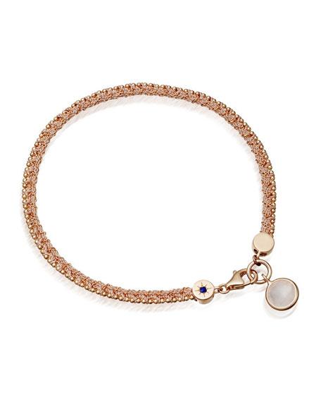 Planet of Dreams Bracelet with Rose Quartz Charm