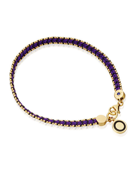 Astley Clarke Violet Berry Cosmos Stones Bracelet