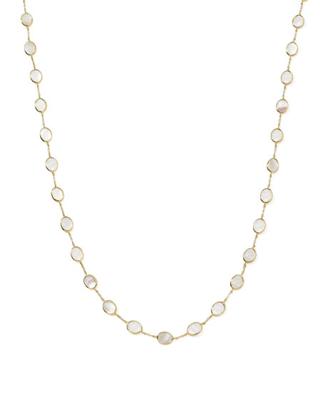 Polished Rock Candy 18k Gold Confetti Necklace 36