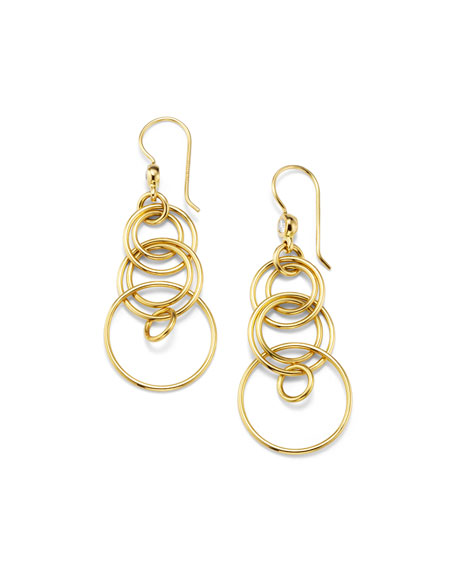 Ippolita 18k Diamond Mini Jet-Set Earrings