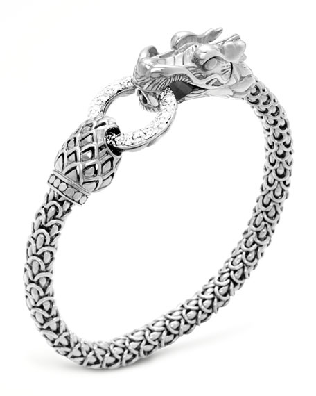John HardyNaga Dragon Diamond-Ring Bracelet