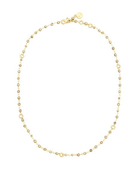 Dominique Cohen 18k Yellow Gold Pyrite Delicate Bead