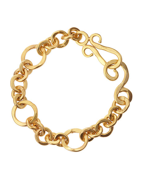 Stephanie Kantis Coronation 24k Gold Plate Small Bracelet