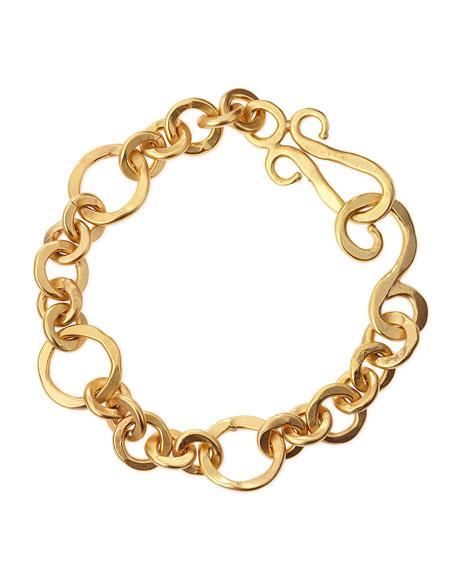 Coronation 24k Gold Plate Small Bracelet