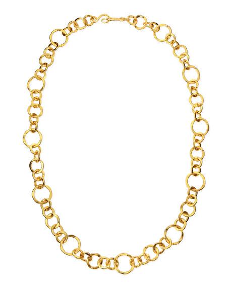 Stephanie Kantis Coronation 24k Gold Plate Large Necklace,