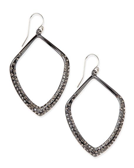 Alexis Bittar Miss Havisham Orbit Wire Earrings