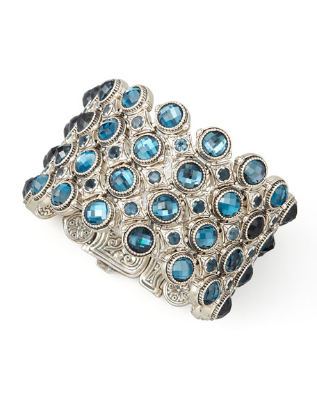 Thalassa London Blue Topaz Bracelet
