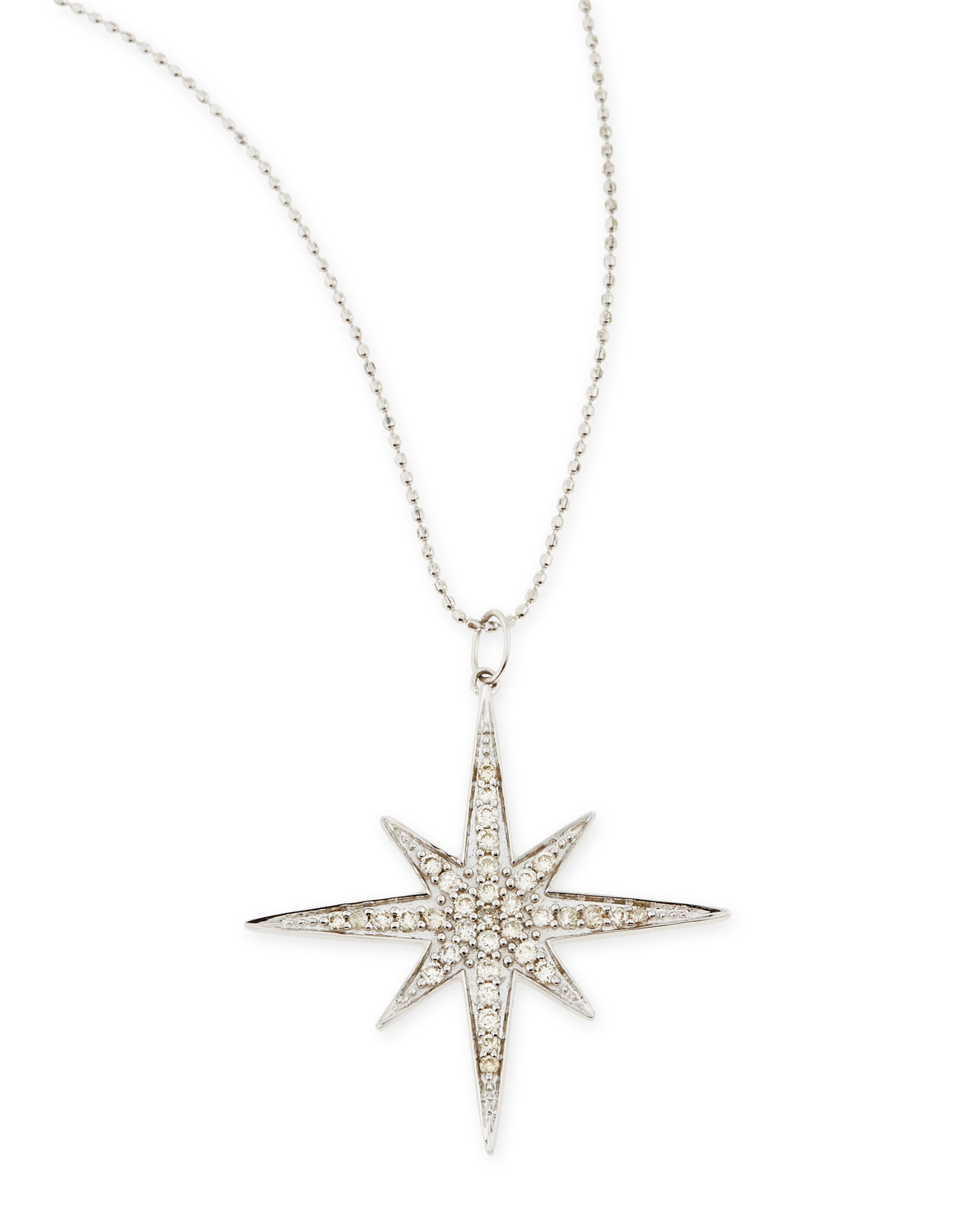 Sydney Evan Diamond Starburst Pendant Necklace 2hU8IDWA
