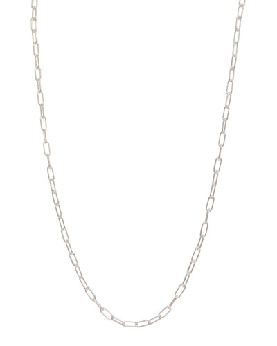 3mm Sterling Silver Chain Necklace, 31""