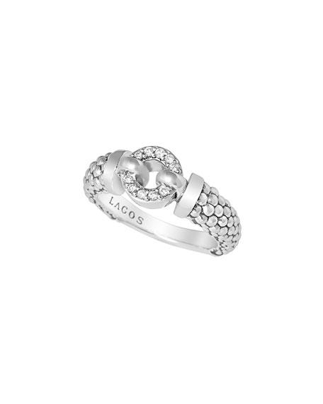 8mm Enso Diamond Ring