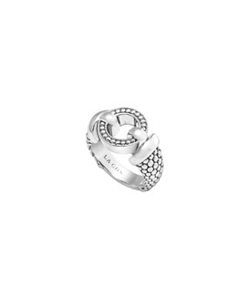 Lagos 13mm Enso Sterling Silver Ring