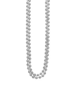 Lagos Sterling Silver Ball Chain Necklace