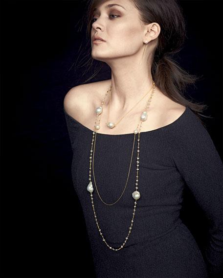 14k Gold Akoya Pearl Earrings