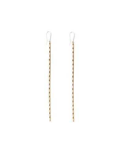 Lana Large 14k Blake Bar Earrings