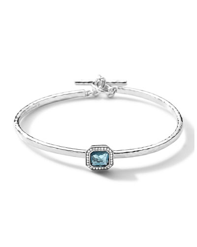 Ippolita Sterling Silver Stella Togglette Bracelet with Diamonds