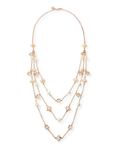 Babylon Triple-Strand Necklace