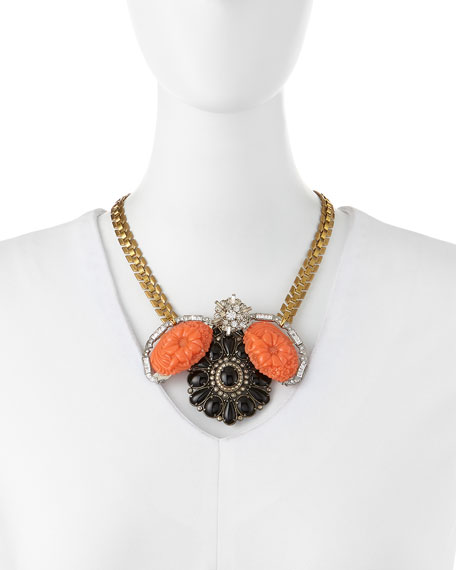 One-of-a-Kind 50 Year Necklace with Bakelite Buckles