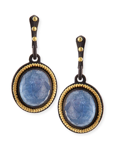 Armenta Old World Kyanite Drop Earrings