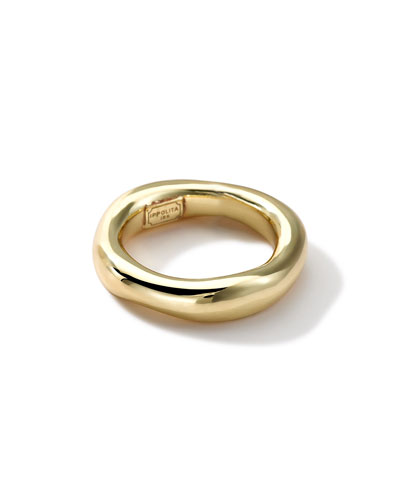 18k Gold Glamazon Single-Squiggle Ring