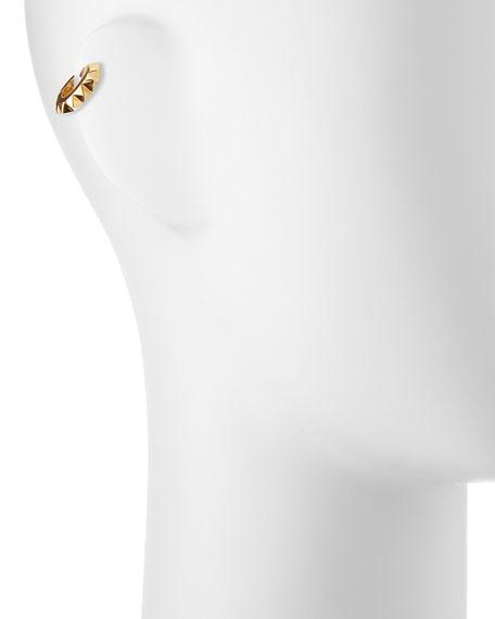 GOLD PYRAMID EAR CUFF