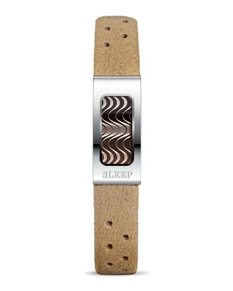 Philip Stein Stainless Steel Slim Sleep Bracelet