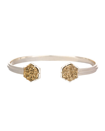 Kendra Scott Arden Bracelet with Bronze Druzy Tips