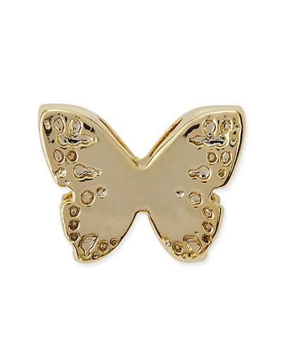14k Gold Plated Butterfly Charm