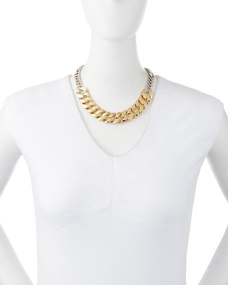 Katie Mixed Metal Chain Necklace