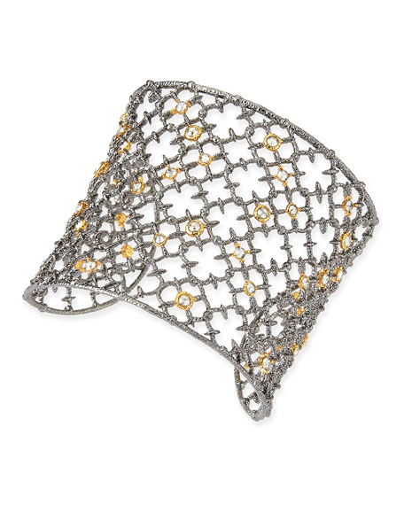 CRYSTAL STUDDED SPUR CUFF